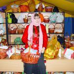Во время Пасхального богослужения корзинки с куличами можно оставить в специально установленной палатке
