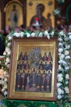 икона Святогорских святых